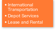 International Transportation / Depot Services  / Lease and Rental